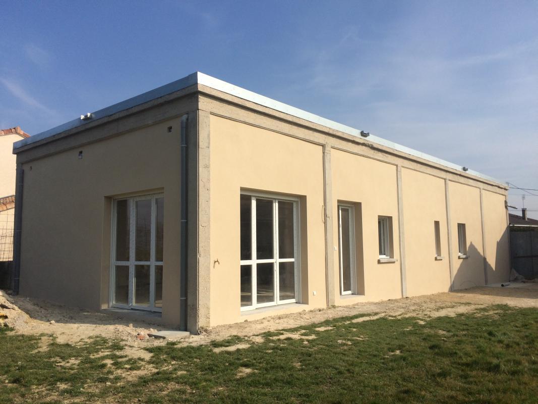R novation de fa ades morel batiment entreprise de for Entreprise renovation facade